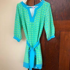 Lily Pulitzer silk tunic dress